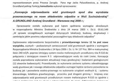 Referencje ZUO Wola Suchożebrska