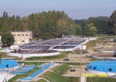 Oczyszczalnia Ścieków w Grodzisku Mazowieckim po zakończeniu inwestycji