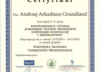 Certyfikat EUCP