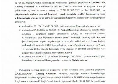 Referencje OŚ Kozienice